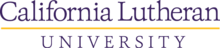 California Lutheran University logo starting 2014.png
