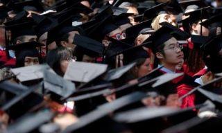 哈佛提前录取亚裔生比例提高